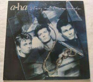 A-HA LP STAY ON THESE ROADS 33 GIRI VINYL UK 1988 WARNER BROS 925733 WX166 NM/NM