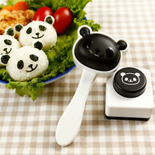 Baby Kids Panda Shaped Rice Ball Sushi Mold DIY Bento Food Maker Kitchen Tools