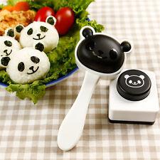 Baby Kids Panda Shaped Rice Ball Sushi Mold DIY Bento Food Maker Kitchen Tools