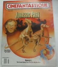 Cinefantastique Magazine Jurassic Park Robocop 3 August 1993 052615R2