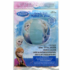 "Inflatable Beach Ball 20"" Girl Age 3+ Disney Frozen Elsa & Olaf NEW"