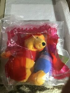 2000 McDonalds Winnie the Pooh Plush Toys - Hugging Buddies- MIP - with Roo