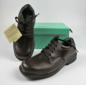 Clarks Daytona SNR INJ BROWN School Shoes Boys Girls Lace Up Free Ship