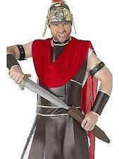 Roman Sword Mens Ladies Gladiator Fancy Dress Accessory Scabbard 50cm