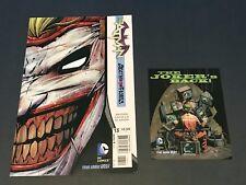 Batman #13 New 52 Death of the Family Joker Direct 1st Print NM Scarce/Rare!