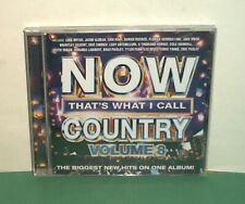 Now That's What I Call Country Vol. 8 CD Jun-2015 Chris Young Jake Owen Sam Hunt