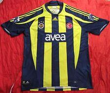 FENERBAHCE SK Istanbul Turchia CENTENARIO HOME SHIRT JERSEY ADIDAS 2007-08 Taglia XL