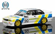 Scalextric BMW E30 M3 Slot Car 1/32 60th Anniversary C3829A
