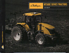"AGCO Challenger ""MT500E Series"" 140 - 280hp Tractor Brochure Leaflet"
