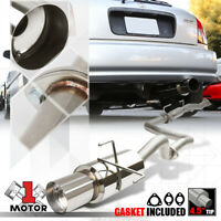 Yonaka 2006-2014 Honda Ridgeline Stainless Steel Catback Exhaust Muffler 3.5L V6