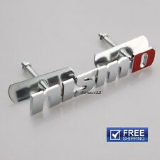JDM NISMO grill badge chrome 3D Metal NISMO Logo Racing Front Hood Grille Emblem
