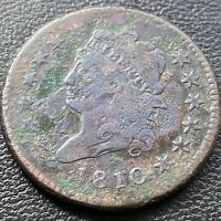 1810 Large Cent Classic Head One Cent 1c Better Grade  #28968