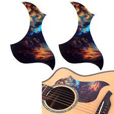 2x Acoustic Guitar Pickguard Pick Guard Self-adhesive Scratch Plate Accs