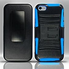 For iPhone 5c - Heavy Duty Armor Style 2 Case w/ Holster