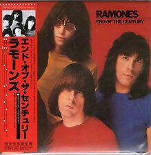 THE RAMONES-End Of the Century-Japan CD-Bonus Tracks-BRAND NEW- Still Sealed