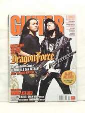 DRAGONFORCE GUITAR WORLD HERMAN LI SAM TOTMAN RADIOHEAD AEROSMITH NOVEMBER 2008!