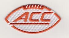 MIAMI HURRICANES ORANGE JERSEY ACC PATCH  NCAA COLLEGE FOOTBALL  BASKETBALL