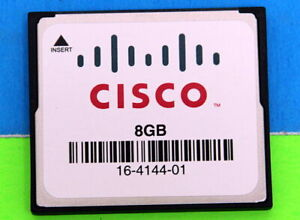 MEM-FLASH-8G Genuines CISCO 8GB Cisco Genuine CompactFlash 16-4144-01