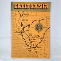 1940 Union Pacific Railroad Vintage California Tour Travel Guide Booklet Photos