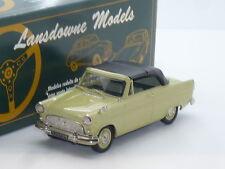 New 1:43 Lansdowne Models LD23 1962 Ford Consul Convertible Handbuilt Brooklin