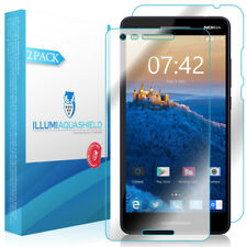 2x iLLumi AquaShield Front + Back Panel Protector for Nokia  2V