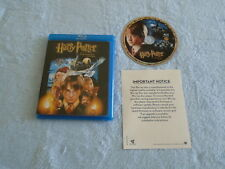 HARRY POTTER AND THE SORCERER'S STONE (Blu-Ray 2007, 1 Disc) Good Condition