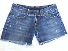 Levi's women's distressed denim cut off shorts size 31
