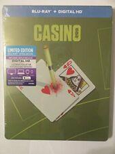 Casino Limited Edition Steelbook (Blu-ray & Digital HD Copy) New