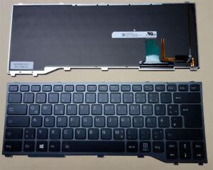 Tastatur Fujitsu Siemens LifeBook T937 T938 CP724505-01 LED Backlit Keyboard DE