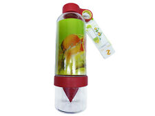 2 x CITRUS ZINGER WATER BOTTLE INFUSING DRINKING VESSEL sport camping picnic