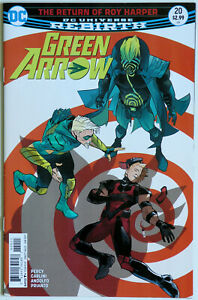 Green Arrow #34 Vol 6 Rebirth - DC Comics - Benjamin Percy - Mirka Andolfo -