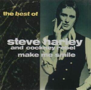 STEVE HARLEY & COCKNEY REBEL MAKE ME SMILE: THE BEST OF CD ALBUM