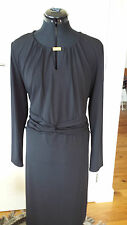Capture Black Ladies long sleeves dress Size 20 Brand new with tags