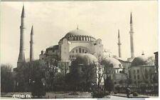 pc3913 postcard AY A SOFYA Mosque RPPC MOBSC
