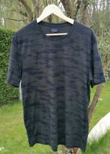 T-shirt homme kaki et noir camouflage / ZARA / Taille XL