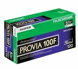 5 Rolls Fuji Fujichrome RDP 120 Provia 100F Film  FRESH DATE