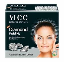 VLCC Diamond Facial Kit (Natural Sciences) For Skin Polishing, 3 X 50 g+10 ml K