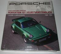 Bildband Porsche 911 Carrera 924 944 928 V8 917 1968 - 1994 Karl Ludvigsen NEU!