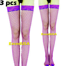 Fishnet Lady Lace Top Mesh High Thigh Stockings Tights Pantyhose Long Socks new