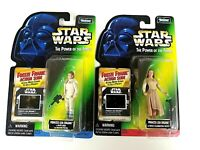 Kenner Star Wars Princess Leia Organa Ewok & in Hoth Gear Action Figures Sealed