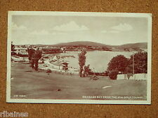 R&L Postcard: Swanage Bay from the Miniature Golf Course 1954