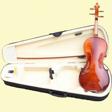 "BANKRUPCY-FULL SIZE DRAW ""FLAMED"" 4/4 VIOLIN FIDDLE-WITH CASE AND BOW"