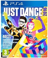 PS4 Just Dance 2016 NEW SEALED UK PAL Sony Playstation 4 16 Music Dancing Game A