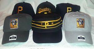 Pittsburgh Pirates Adjustable Hat ( Large Selection )