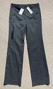 NWT New Women's Banana Republic Gray Dress Pants Size 4 Logan Fit Trouser