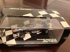 1:43 Minichamps F1 Team Mclaren Mercedes MP4-98T Mika & Erja Hakkinen