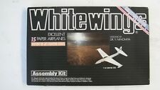 WHITE WINGS 15 PAPER AIRPLANES HISTORY OF JET FIGHTERS SERIES ASSEMBLY KIT BY DR
