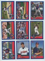 2003 TOPPS & TOPPS TRADED CLEVELAND INDIANS TEAM SET W/PROSPECTS (31 Cards)