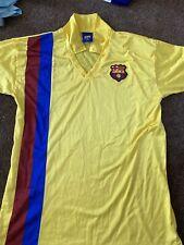Estilo Retro Barcelona Away Camiseta Talla XL