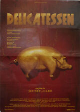 Delicatessen -- Cartel de Cine Original --